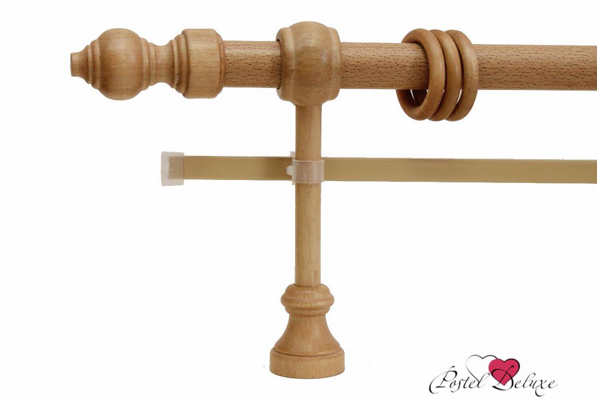 Карнизы ARCODOROРазмер (длина): 260 см<br>Диаметр трубы: 28 мм<br>Материал карниза: Дерево,Металл<br>Тип карниза: Двухрядный карниз<br>Форма карниза: Прямой карниз<br>Вид изделия: Гладкий карниз<br>Крепление: Настенный карниз<br><br>Штанга карниза выполнена из металла, комплектующие выполнены из дерева.<br><br>Комплектация:<br>- Карниз<br>- Кронштейны<br>- Кольца с зажимами для штор<br>- Наконечники для карниза<br>- U-шина<br>- заглушки для U-шины<br><br>Производитель: ARCODORO<br>Cтрана производства: Россия<br><br>Тип: Карнизы<br>Размерность комплекта: Карнизы<br>Материал: Дерево,Металл<br>Размер наволочки: None<br>Подарочная упаковка: Карнизы<br>Для детей: Карнизы<br>Ткань: Дерево,Металл<br>Цвет: None