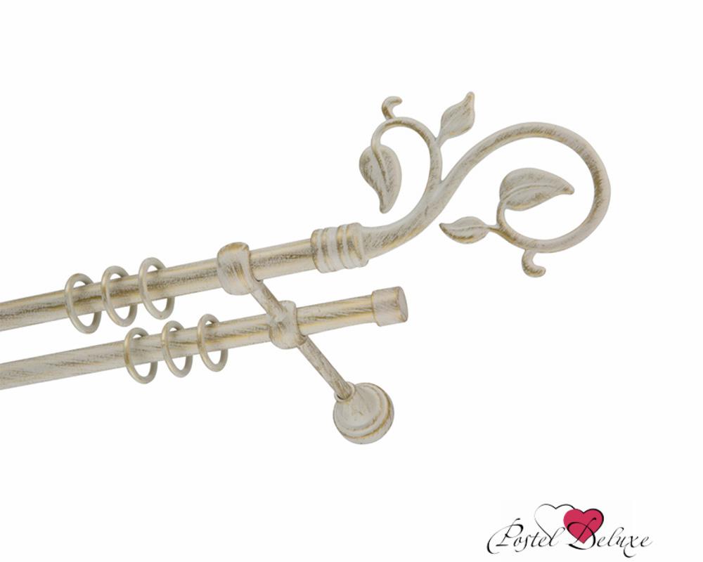 Карнизы ARCODOROРазмер (длина): 320 см<br>Диаметр трубы: 16 мм<br>Материал карниза: Металл<br>Тип карниза: Двухрядный карниз<br>Форма карниза: Прямой карниз<br>Вид изделия: Гладкий карниз<br>Крепление: Настенный карниз<br>Особенность: Составной карниз<br><br>Штанга и комплектующие из металла имеют гальваническое покрытие, что позволяет им сохранить цвет и привлекательный внешний вид на долгие годы.<br><br>Комплектация:<br>- штанга гладкая (диаметр 16 мм) составная (каждая из 2-х шт) - 2 шт.<br>- кронштейны - 3 шт.<br>- кольца с пластиковой вставкой и крючком - 10 шт. на 1 п.м.<br>- крепежный комплект (шурупы, дюбели).<br>- заглушки - 2 шт.<br>- упаковка - короб ПВХ.<br><br>Наконечники для карниза в комплекте не идут.<br><br>Производитель: ARCODORO<br>Cтрана производства: Россия<br><br>Тип: Карнизы<br>Размерность комплекта: Карнизы<br>Материал: Металл<br>Размер наволочки: None<br>Подарочная упаковка: Карнизы<br>Для детей: Карнизы<br>Ткань: Металл<br>Цвет: Белый,Золотой