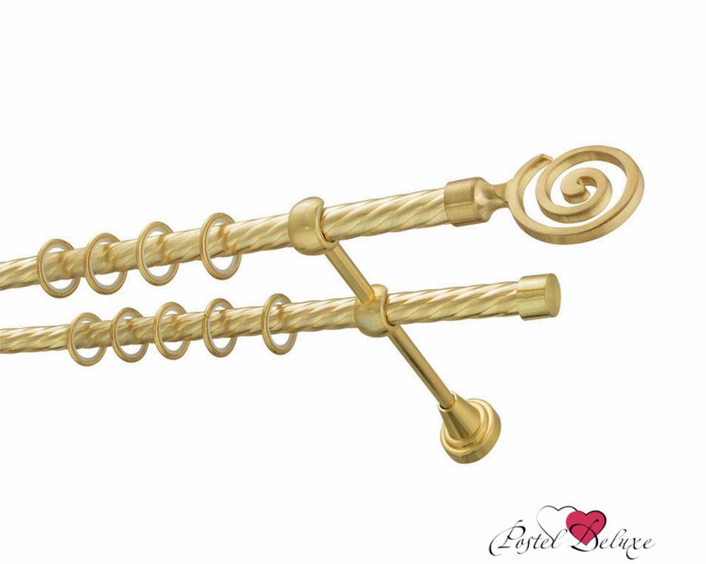 Карнизы ARCODOROРазмер (длина): 160 см<br>Диаметр трубы: 16 мм<br>Материал карниза: Металл<br>Тип карниза: Двухрядный карниз<br>Форма карниза: Прямой карниз<br>Вид изделия: Витой карниз<br>Крепление: Настенный карниз<br><br>Штанга и комплектующие из металла имеют гальваническое покрытие, что позволяет им сохранить цвет и привлекательный внешний вид на долгие годы.<br><br>Комплектация:<br>- штанга витая (диаметр 16 мм)-2 шт.<br>- кронштейны - 2 шт.<br>- кольца с пластиковой вставкой и крючком - 10 шт. на 1 п.м.<br>- крепежный комплект (шурупы, дюбели).<br>- заглушки - 2 шт.<br>- упаковка - короб ПВХ.<br><br>Наконечники для карниза в комплекте не идут.<br><br>Производитель: ARCODORO<br>Cтрана производства: Россия<br><br>Тип: Карнизы<br>Размерность комплекта: Карнизы<br>Материал: Металл<br>Размер наволочки: None<br>Подарочная упаковка: Карнизы<br>Для детей: Карнизы<br>Ткань: Металл<br>Цвет: None
