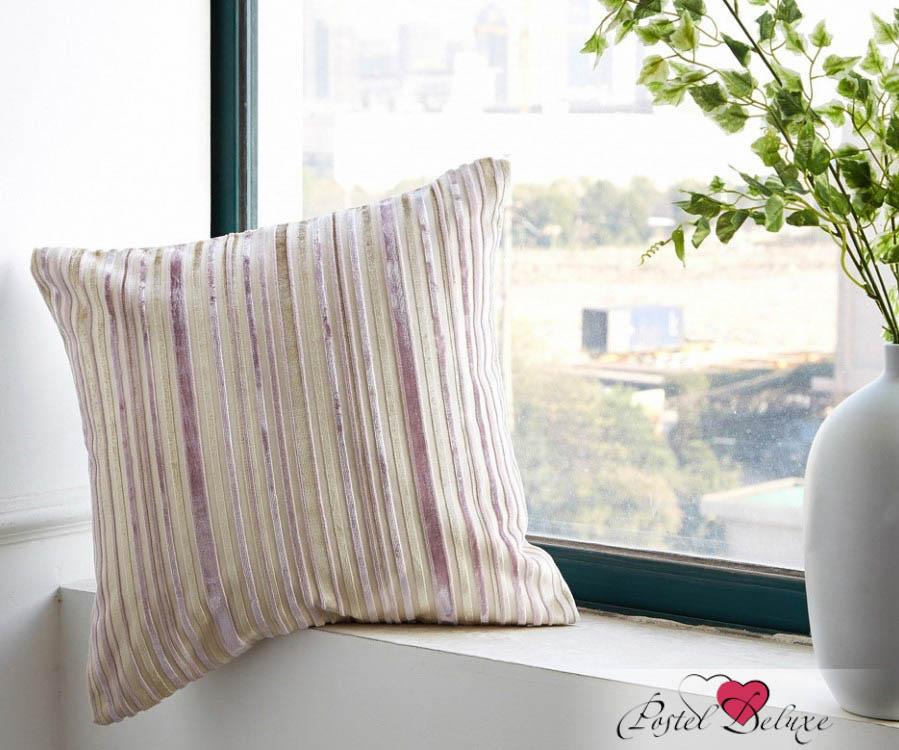 где купить  Декоративные подушки Asabella Декоративная наволочка  Caterpillar Цвет: Бежево-Сиреневый (43х43)  по лучшей цене
