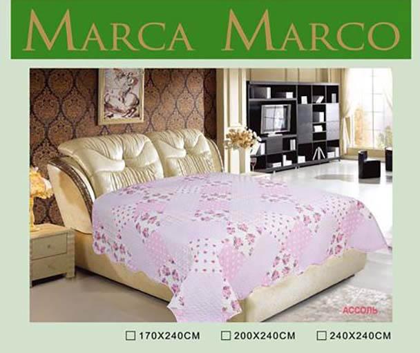 где купить  Покрывало MАRCA MARCO Покрывало Ассоль (240х240 см)  по лучшей цене