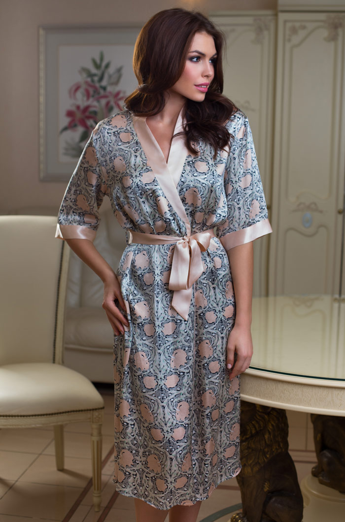 Домашние халаты Mia-Mia Домашний халат Diora (xL) домашние халаты mia mia домашний халат yesenia xl