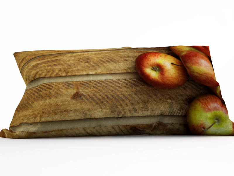 где купить Декоративные подушки StickButik Декоративная подушка Деревенские Яблочки (25х45) по лучшей цене