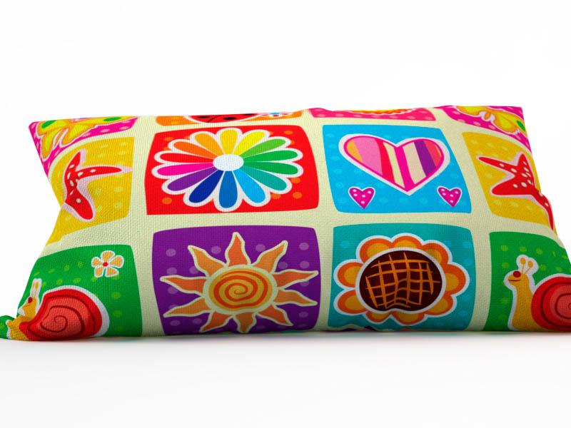 где купить Декоративные подушки StickButik Декоративная подушка Палитра Лета (25х45) по лучшей цене