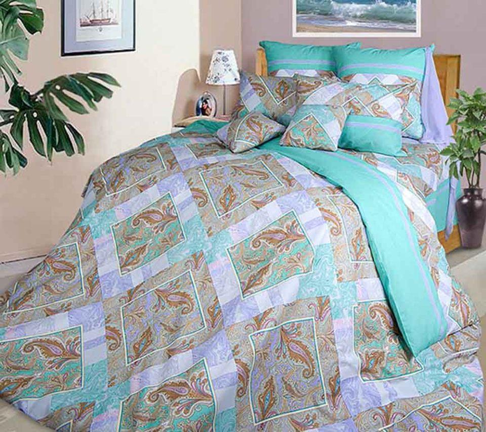 Постельное белье ТК Хлопковый Рай Постельное белье Бахчисарай (семейное)