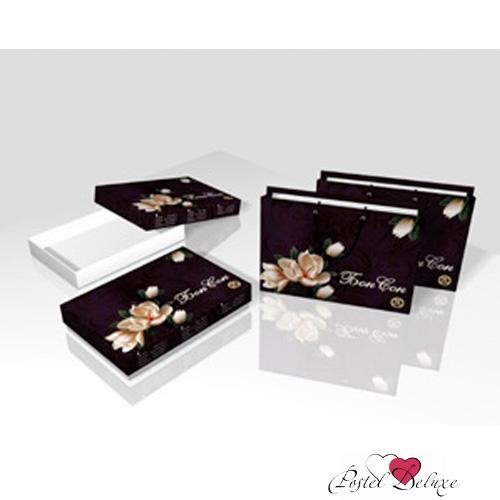 Постельное белье БонСон Постельное белье Орхидея (2 спал.) орхидея подарочная в упаковке