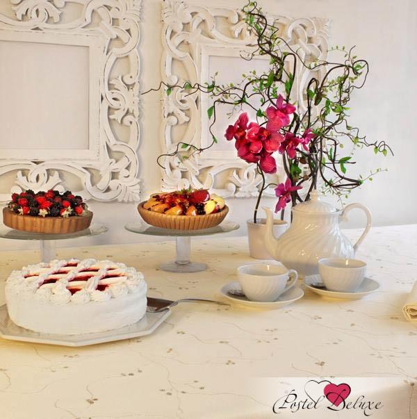 Скатерти и салфетки BOVI Скатерть Sweet Цвет: Бежевый-Песочный (160х280 см)