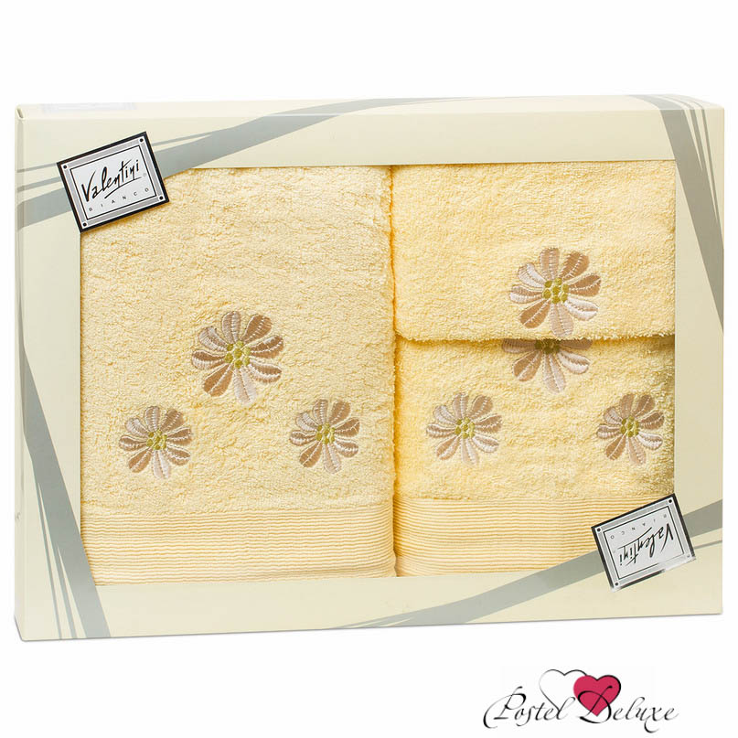 Valentini Полотенце Camomile Цвет: Светло-Желтый (Набор)