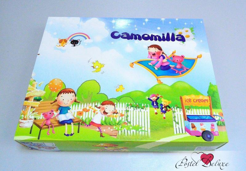 Детское Постельное белье Camomilla Постельное белье Маша и Медведь (150х210 см) camomilla camomilla кпб тачки 150х210 см