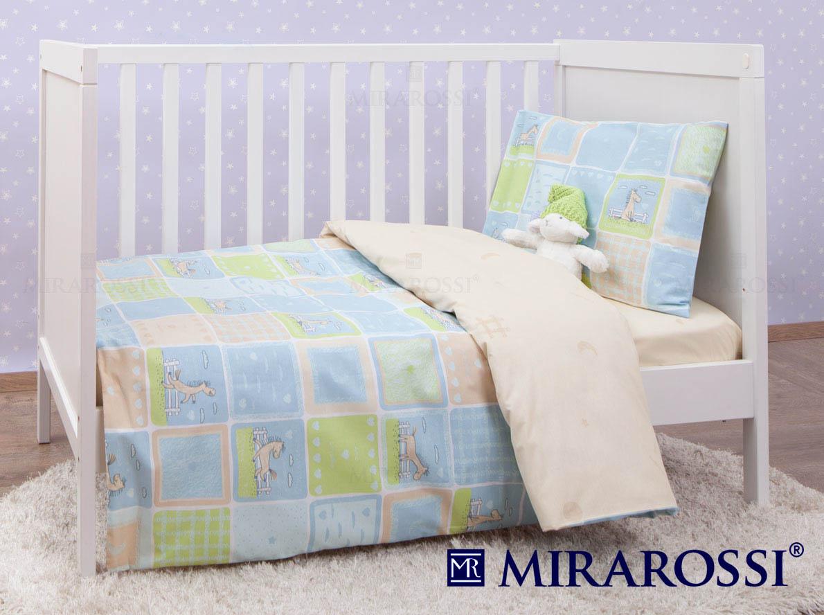 MIRAROSSI Постельное белье Cavallino Цвет: Бежевый (115х147 см)