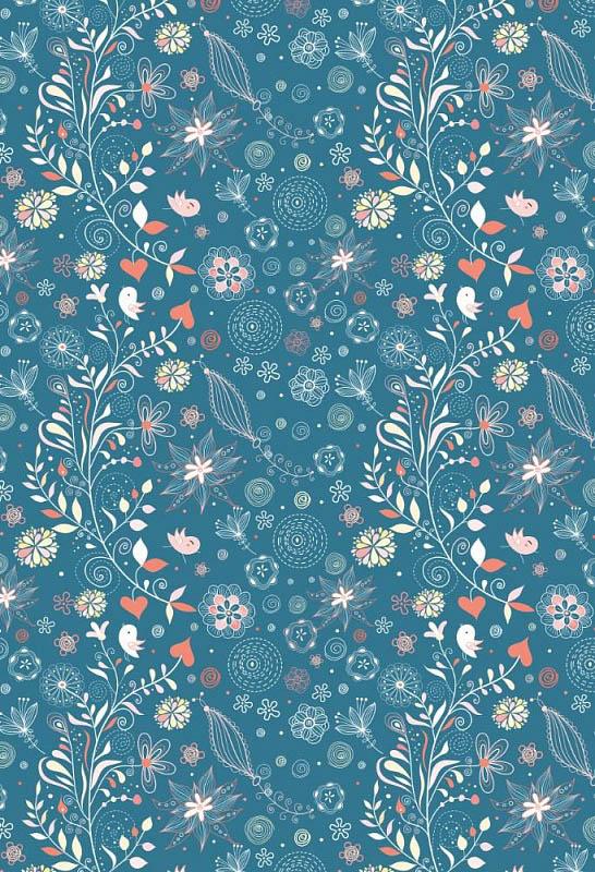 Скатерти и салфетки StickButik Скатерть Индиго (120х120 см)