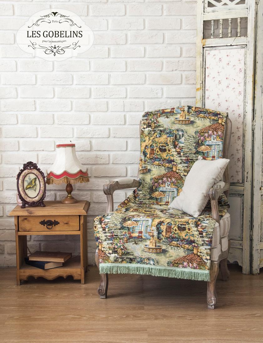 Фотография Les Gobelins Накидка на кресло Jardin D'Eden (70х190 см)