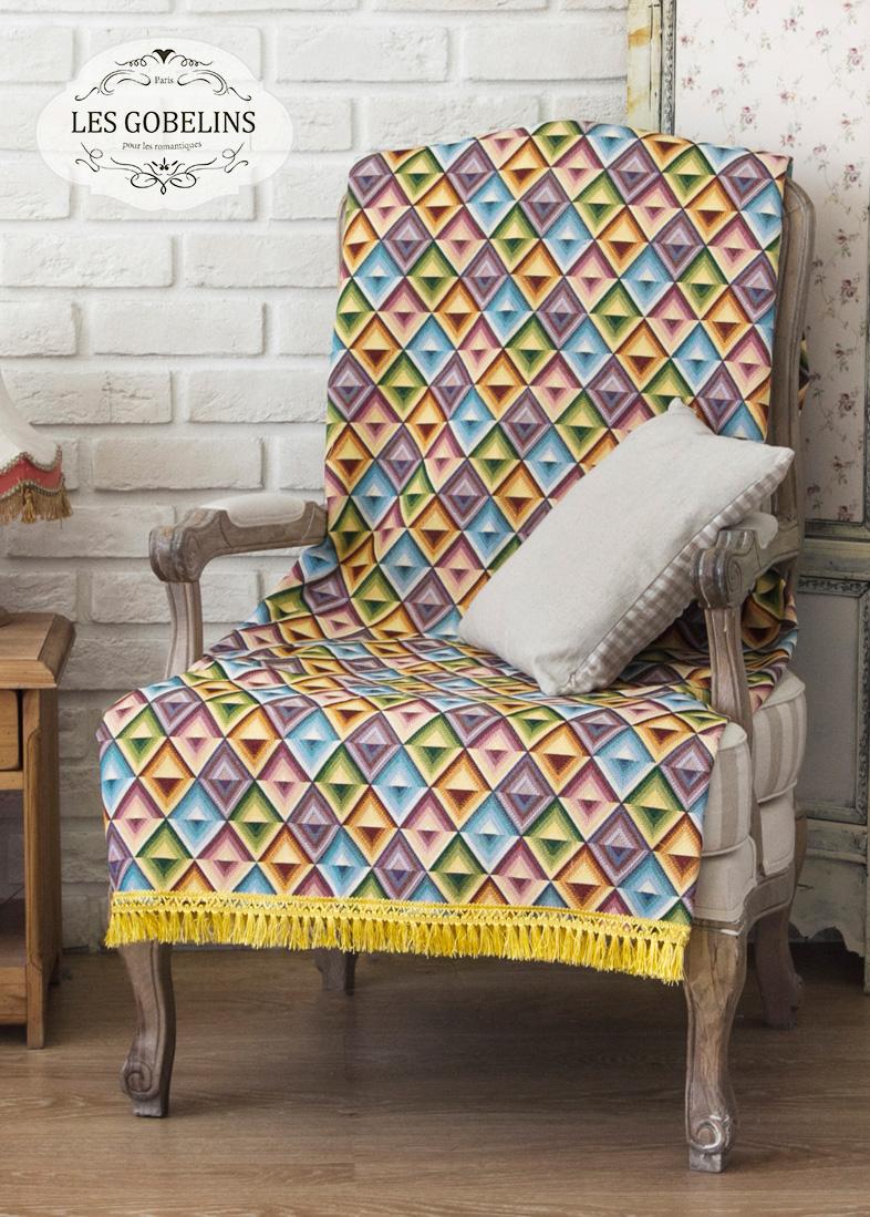 где купить  Покрывало Les Gobelins Накидка на кресло Kaleidoscope (80х140 см)  по лучшей цене
