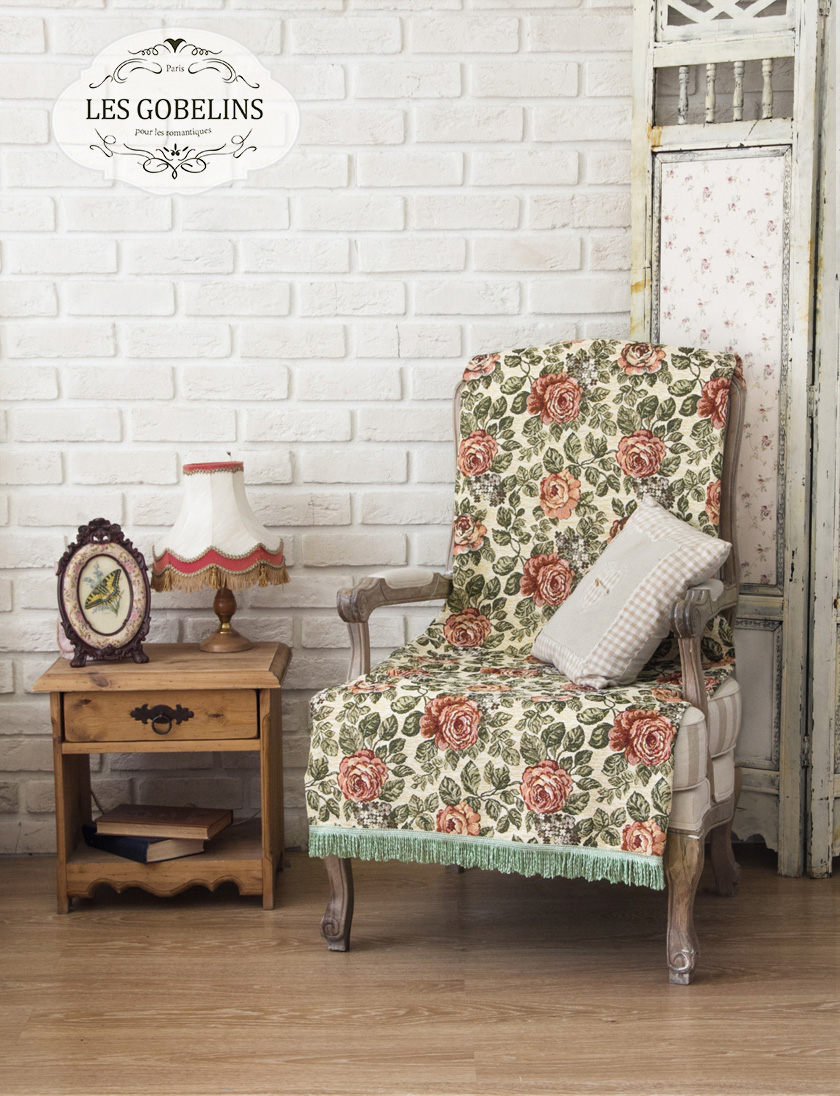 Les Gobelins Накидка на кресло Art Floral (70х170 см)