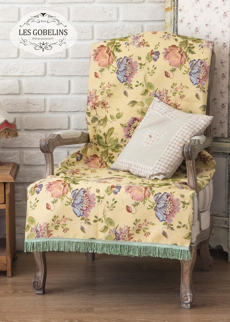 Покрывало Les Gobelins Накидка на кресло Gloria (100х190 см) покрывало les gobelins накидка на кресло gloria 100х140 см