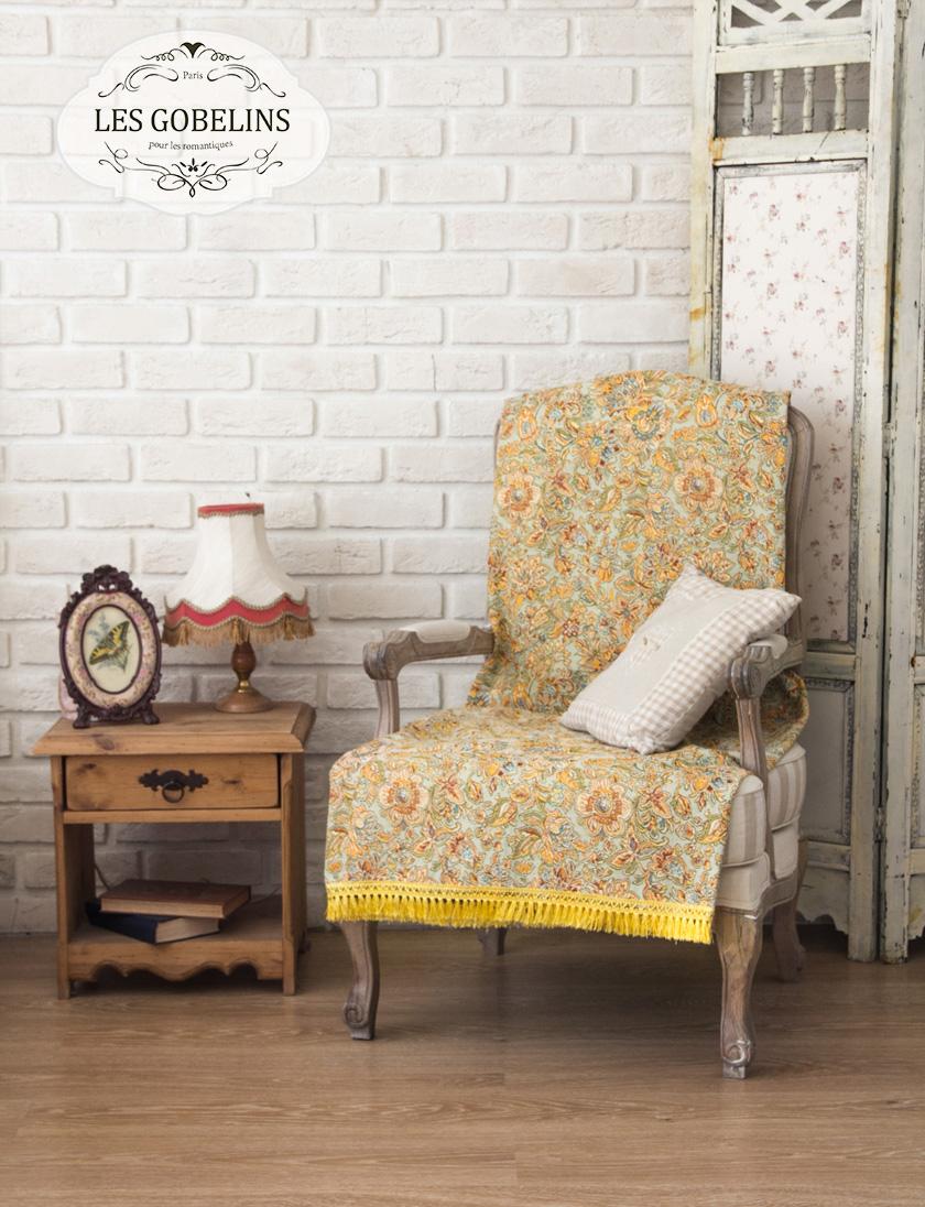 Фотография Les Gobelins Накидка на кресло Vitrail De Printemps (90х150 см)