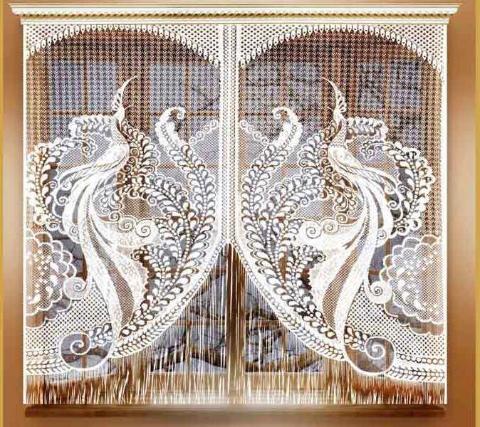 Шторы Лента Нитяные шторы Kacey Цвет: Белый крепление и монтаж roland mdh 12