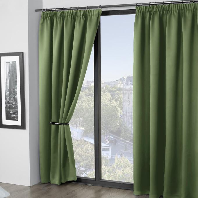 Шторы Amore Mio Классические шторы Grande Цвет: Зеленый