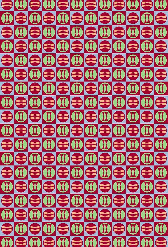 Скатерти и салфетки StickButik Скатерть Барбарис (120х120 см)