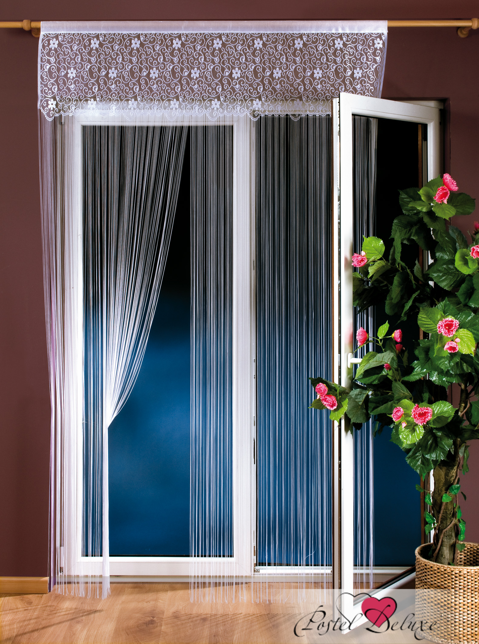 Шторы Wisan Нитяные шторы Kora шторы wisan нитяные шторы odelia