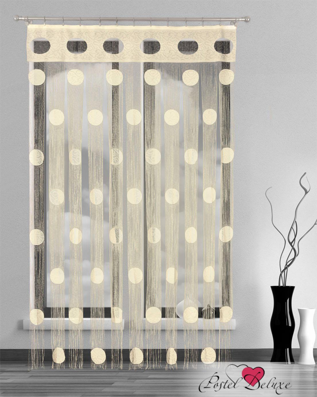 Шторы Wisan Нитяные шторы Цвет: Кремовый, Молочный wisan wisan нитяные шторы joelle цвет кремовый бежевый