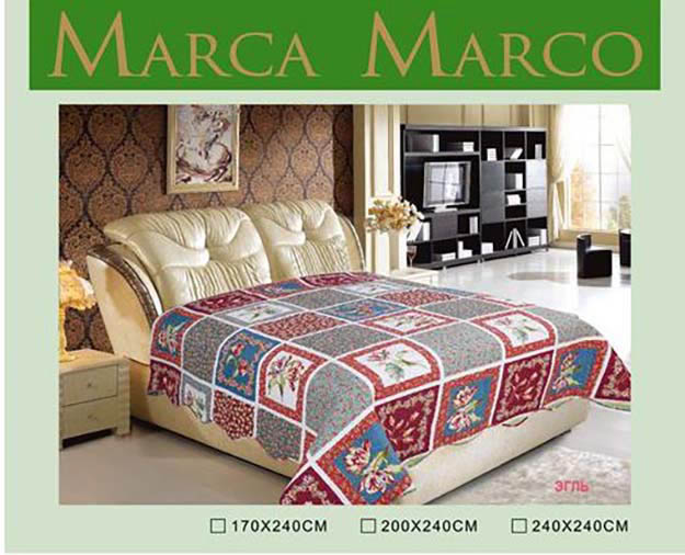 где купить  Покрывало MАRCA MARCO Покрывало Эгль (240х240 см)  по лучшей цене