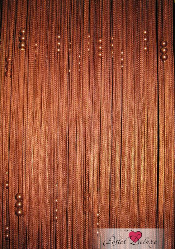 Шторы ElegantaШторы<br>ВНИМАНИЕ! Комплектация штор может отличаться от представленной на фотографии. Фактическая комплектация указана в описании изделия.<br><br>Производитель: Eleganta<br>Cтрана производства: Россия<br>Нитяные шторы<br>Материал гардины: Бусины,Кисея<br>Состав гардины: 100% полиэстер<br>Размер гардины: 300х280 см (1 шт.)<br>Вид крепления: Кулиска<br>Тип карниза: Однорядный карниз<br>Рекомендуемая ширина карниза (см): 120-300<br>Нити шторы украшены декоративными бусинами.<br><br>Тип: Шторы<br>Размерность комплекта: Нитяные шторы<br>Материал: Бусины,Кисея<br>Размер наволочки: None<br>Подарочная упаковка: Нитяные шторы<br>Для детей: Нитяные шторы<br>Ткань: Бусины,Кисея<br>Цвет: Коричневый