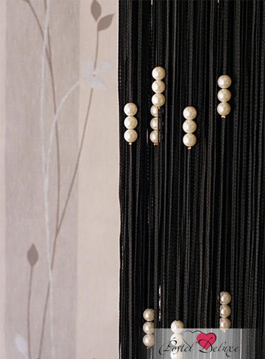 Шторы Elegante Нитяные шторы Жемчуг Цвет: Черный салон штор карниз гардины тольятти