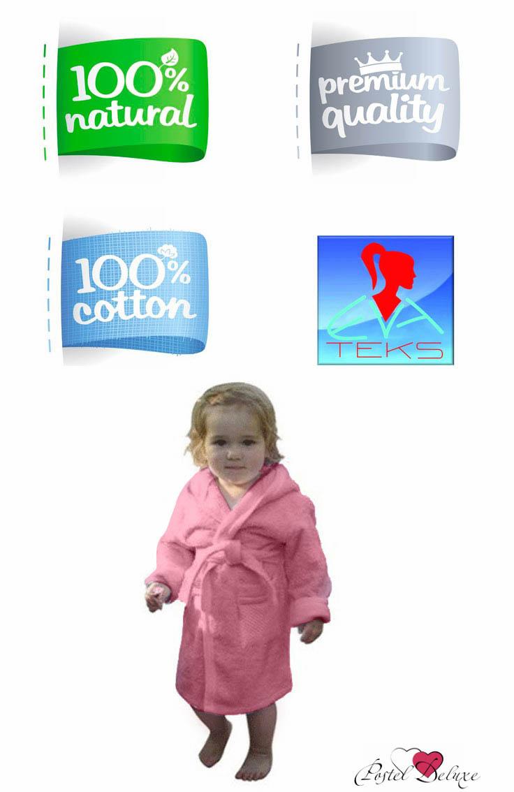 Детские халаты EvaTeks Детский халат Дорогуша Цвет: Розовый