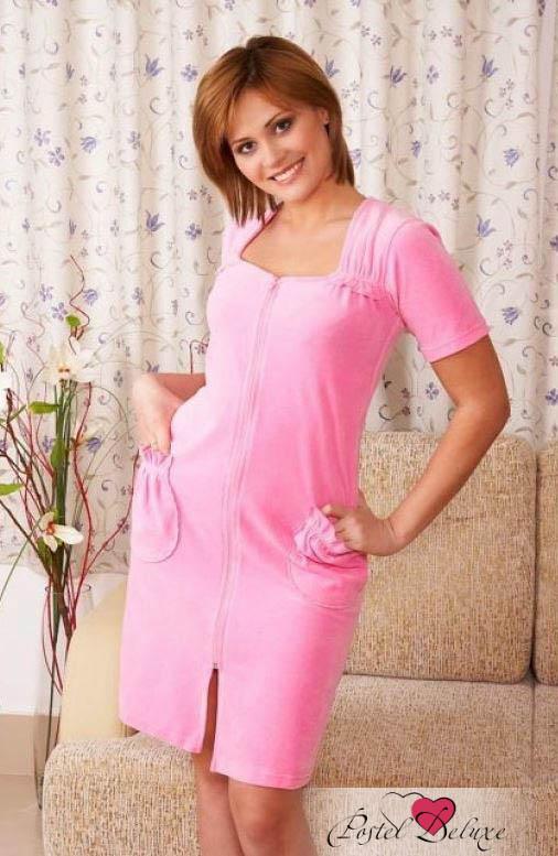Домашние халаты EvaTeks Домашний халат Trista Цвет: Розовый (L)