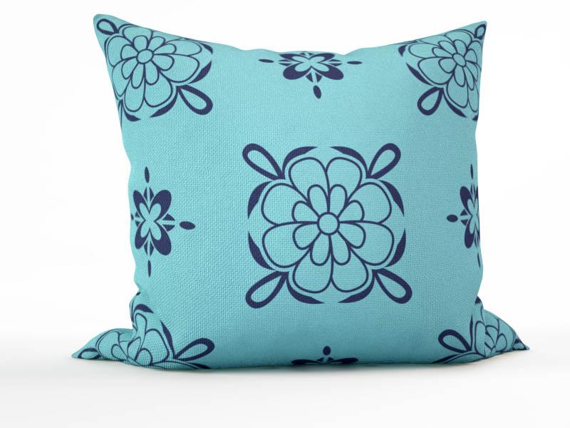 где купить  Декоративные подушки StickButik Декоративная подушка Летний Узорчик (45х45)  по лучшей цене