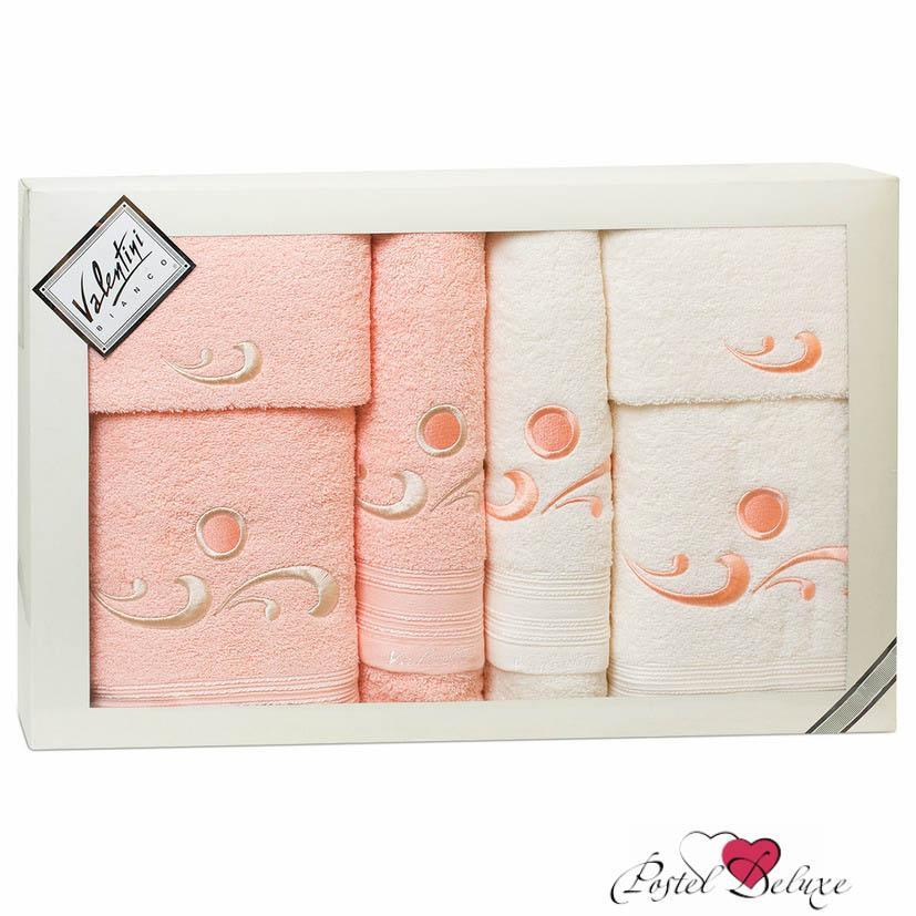 Valentini Полотенце Fantasy Цвет: Бледно-Розовый, Кремовый (Набор)