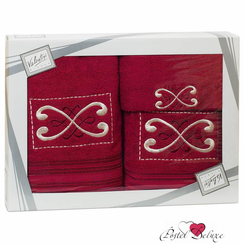 Полотенца Valentini ПолотенцеFantasy 2Цвет: Фуксия (Набор) полотенца eleganta полотенце anetta цвет темная фуксия набор