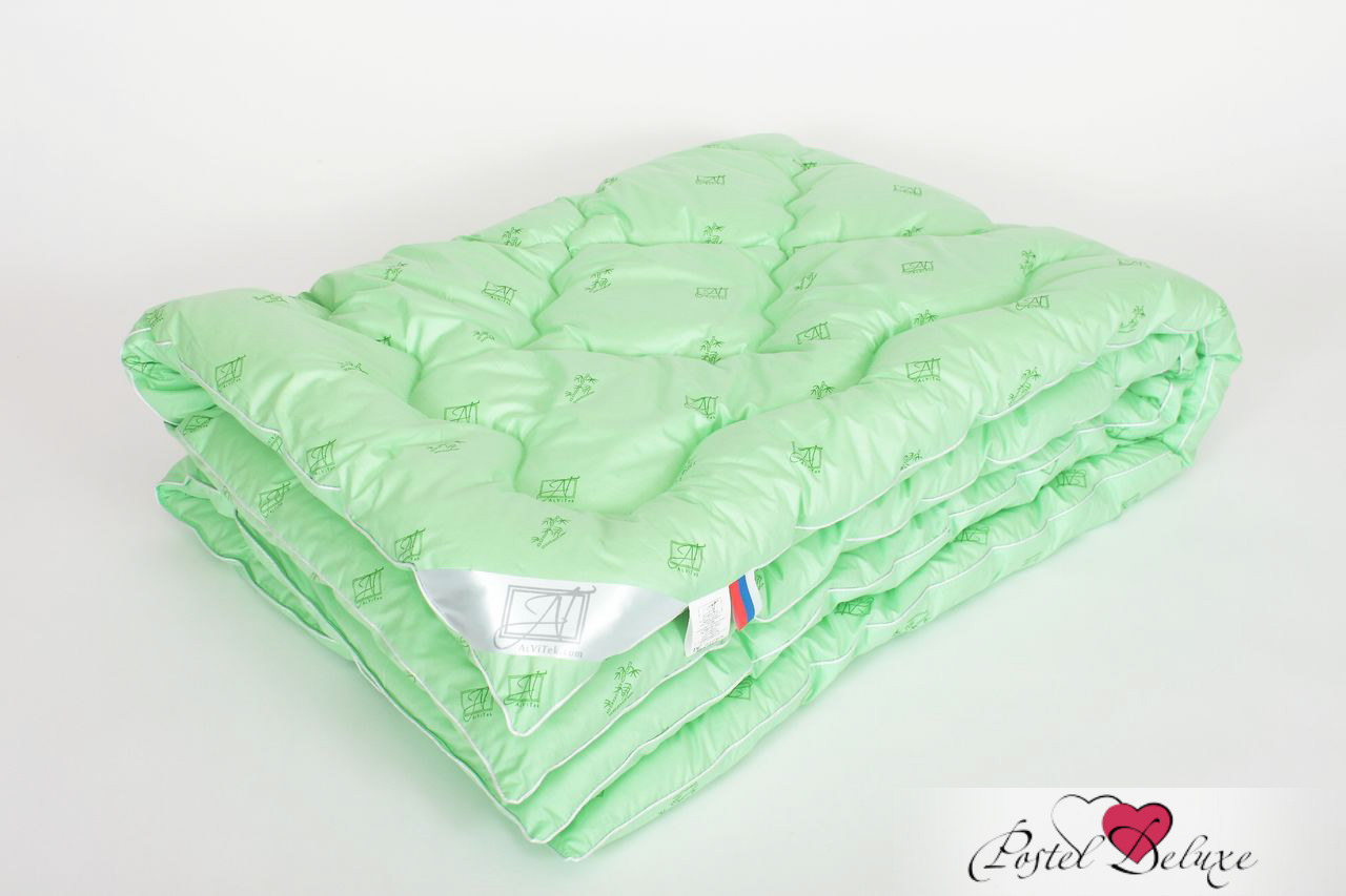 Одеяло AlViTekОдеяла<br>Одеяло стёганое очень тёплое полутороспальное<br>Размер: 140х205 см<br><br>Наполнитель: Бамбуковое волокно<br>Плотность наполнителя: 400 г/м2<br>Состав: Бамбуковое волокно, Полиэстер<br><br>Материал чехла: Перкаль<br>Состав: 100% Хлопок<br>Отделка: Кант<br><br>Производитель: AlViTek<br>Страна производства: Россия<br>Тип Упаковки: Чемодан ПВХ<br><br>Цвет чехла может отличаться от представленного на фотографии.<br><br>Тип: одеяло<br>Размерность комплекта: 1.5-спальное<br>Материал: Перкаль<br>Размер наволочки: None<br>Подарочная упаковка: None<br>Для детей: нет<br>Ткань: Перкаль<br>Цвет: Зеленый