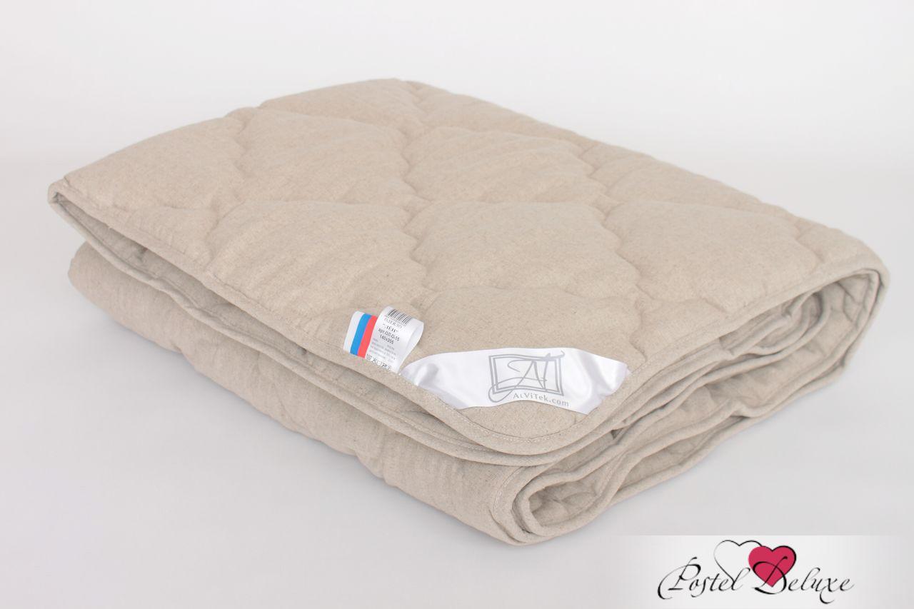 Одеяло AlViTekОдеяла<br>Одеяло стёганое лёгкое двуспальное (мал)<br>Размер: 172х205 см<br><br>Наполнитель: Льняное волокно<br>Плотность наполнителя: 200 г/м2<br>Состав: Льняное волокно, Полиэстер<br><br>Материал чехла: Полулен<br>Состав: 50% лен, 50% хлопок<br>Отделка: Кант<br><br>Производитель: AlViTek<br>Страна производства: Россия<br>Тип Упаковки: Чемодан ПВХ<br><br>Цвет чехла может отличаться от представленного на фотографии.<br><br>Тип: одеяло<br>Размерность комплекта: 2-спальное<br>Материал: Полулен<br>Размер наволочки: None<br>Подарочная упаковка: None<br>Для детей: нет<br>Ткань: Полулен<br>Цвет: Бежевый