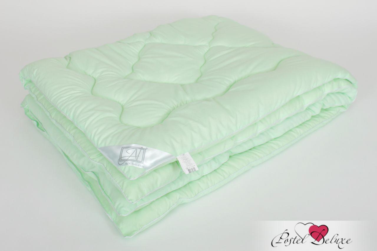Одеяло AlViTekОдеяла<br>Одеяло стёганое тёплое двуспальное (мал)<br>Размер: 172х205 см<br><br>Наполнитель: Бамбуковое волокно<br>Плотность наполнителя: 300 г/м2<br>Состав: Бамбуковое волокно, Полиэстер<br><br>Материал чехла: Микрофибра<br>Состав: 100% Полиэстер<br>Отделка: Кант<br><br>Производитель: AlViTek<br>Страна производства: Россия<br>Тип Упаковки: Чемодан ПВХ<br><br>Цвет чехла может отличаться от представленного на фотографии.<br><br>Тип: одеяло<br>Размерность комплекта: 2-спальное<br>Материал: Микрофибра<br>Размер наволочки: None<br>Подарочная упаковка: None<br>Для детей: нет<br>Ткань: Микрофибра<br>Цвет: Зеленый