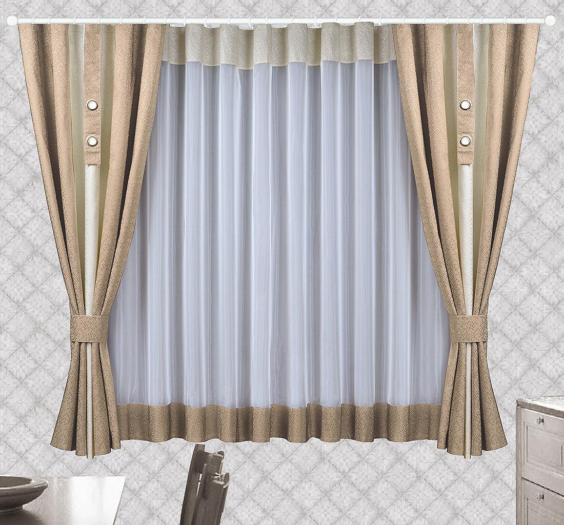 Шторы Велес Классические шторы Стелла Цвет: Какао велес велес шторы с ламбрекеном скарлет
