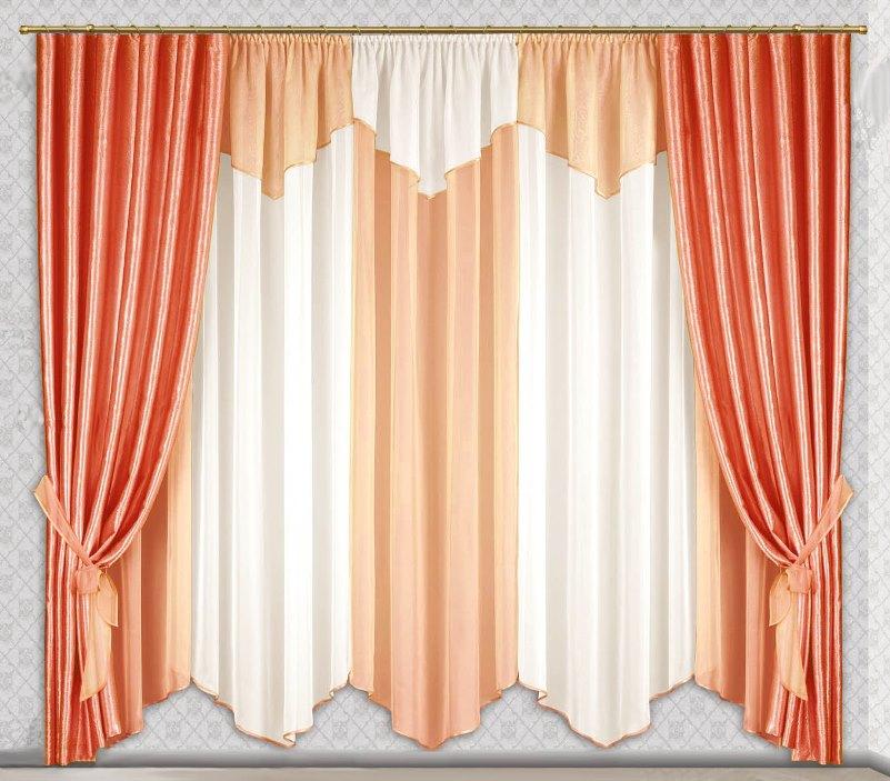 Шторы Велес Шторы с ламбрекеном Дорис велес велес шторы с ламбрекеном скарлет