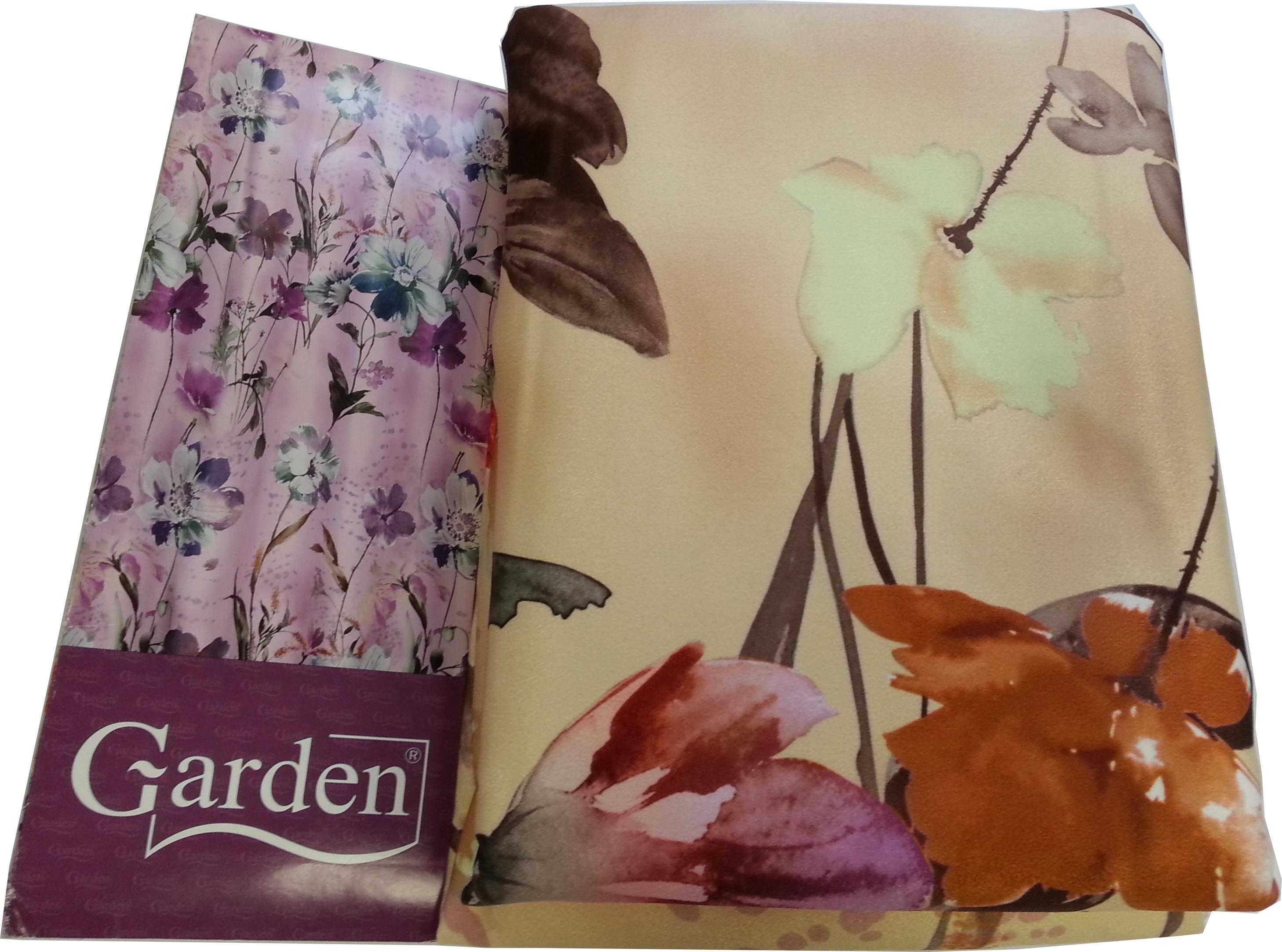 Шторы Garden Классические шторы Полевые Цветы Цвет: Терракотовый-Коричневый/Светло-Желтый garden garden классические шторы полевые вьюнки цвет розовый