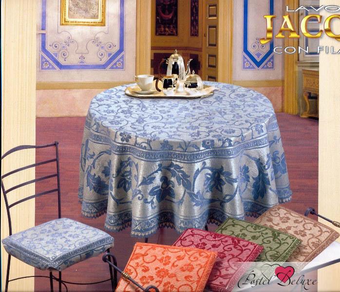 Скатерти и салфетки Fini.Cop Скатерть Arabesco Цвет: Терракотовый (150х210 см) скатерть ирма влагонепроницаемая цвет терракотовый