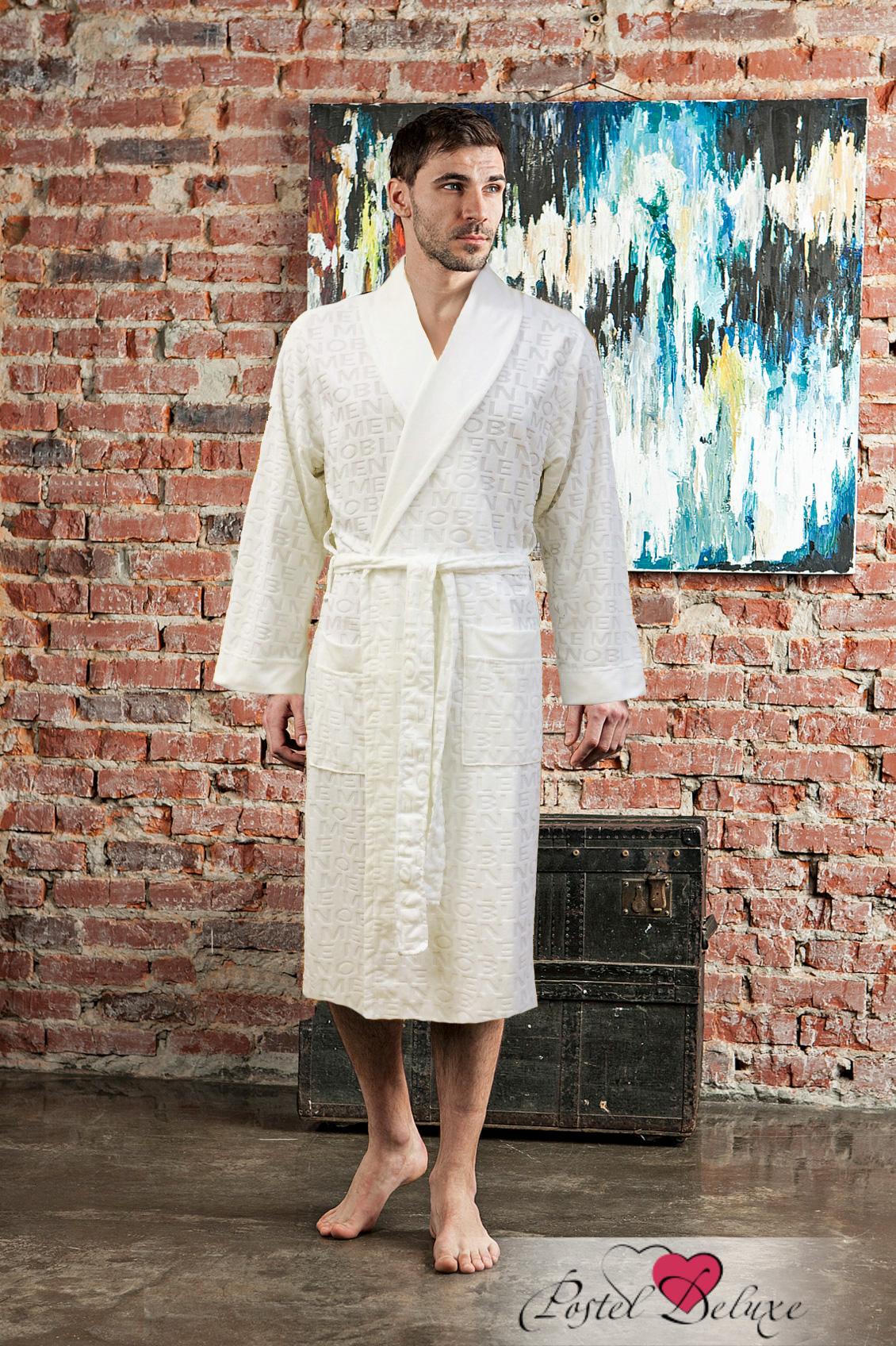 Сауны, бани и оборудование Five Wien Халат VipMen Цвет: Кремовый (ххххL) five wien five wien полотенце anjelika цвет кремовый 70х140 см 6 шт