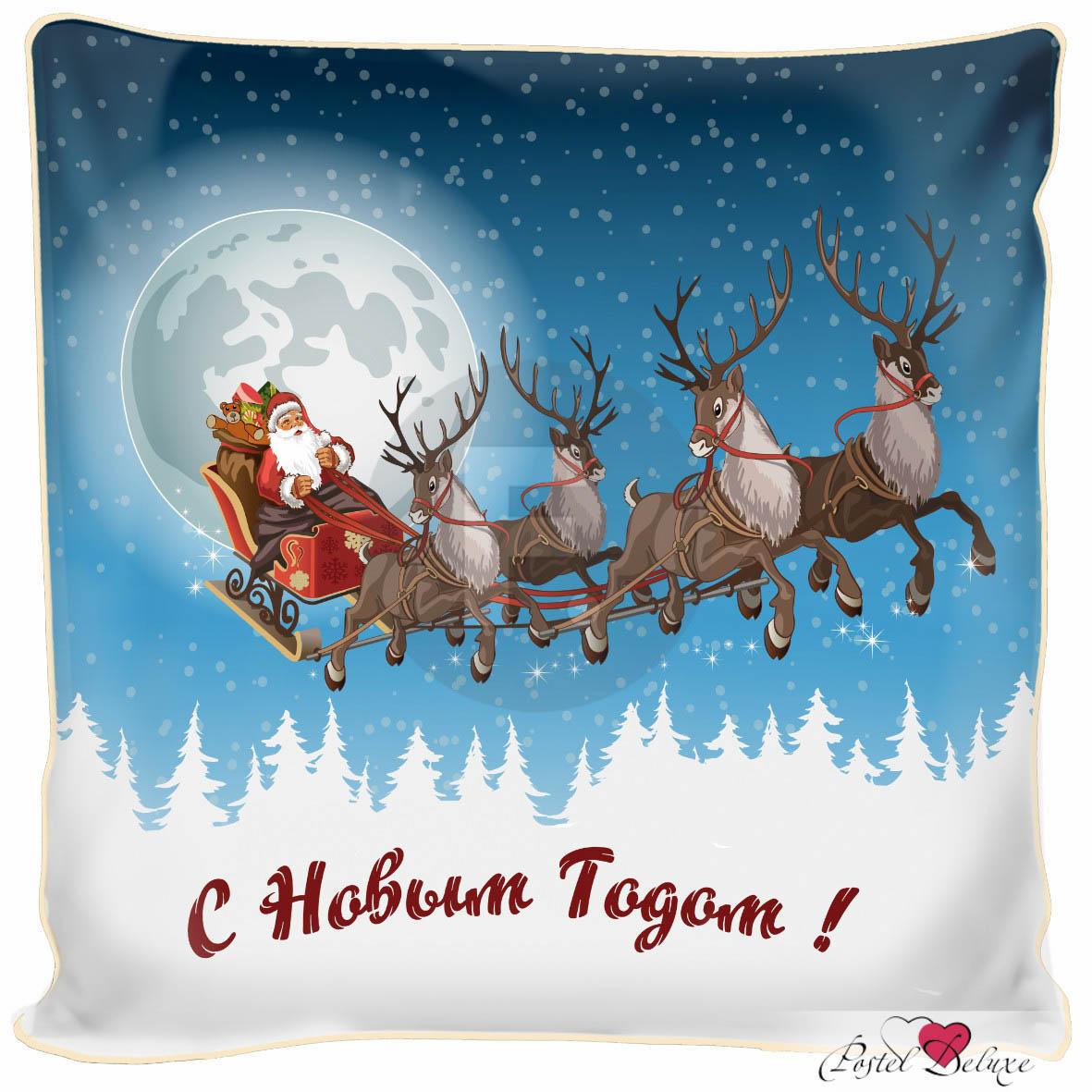 Декоративные подушки Fototende Декоративная подушка С Новым Годом (45х45)
