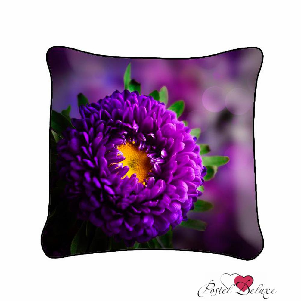 где купить Декоративные подушки Fototende Декоративная подушка Фиолетовый Цветок (45х45) по лучшей цене