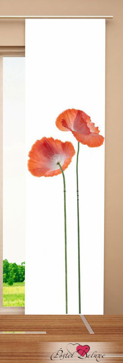 Garden Японские шторы Poppy