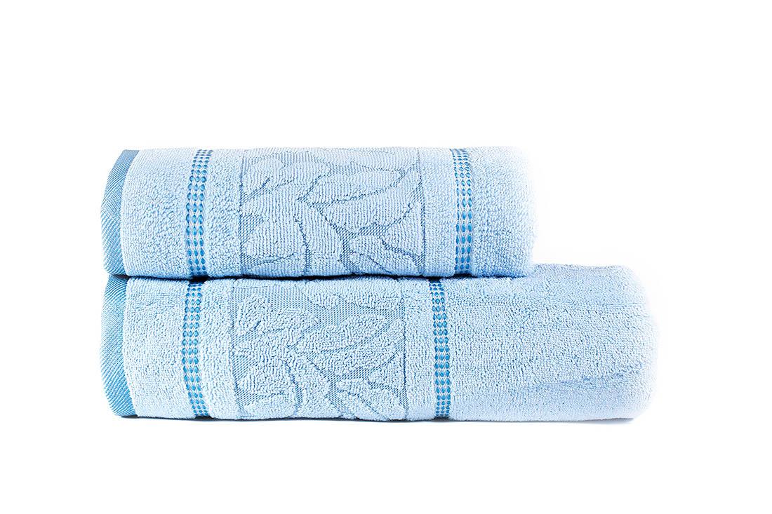 Полотенца Juanna Набор из 2-х полотенец Sultan Цвет: Голубой набор из 3 полотенец merzuka sakura 50х90 2 70х140 8432 терракотовый