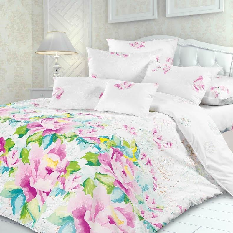 Постельное белье Унисон Постельное белье Парадиз (2 сп. евро) постельное белье амалия розовый бязь евро 1