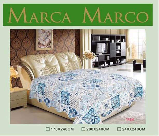где купить  Покрывало MАRCA MARCO Покрывало Грей (240х240 см)  по лучшей цене