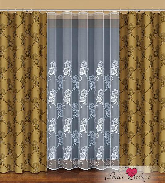 Шторы HaftШторы<br>ВНИМАНИЕ! Комплектация штор может отличаться от представленной на фотографии. Фактическая комплектация указана в описании изделия.<br><br>Производитель: Haft<br>Cтрана производства: Польша<br>Классические шторы<br>Материал гардины: Тюль<br>Материал портьеры: Тафта<br>Размер гардины: 500х250 см (1 шт.)<br>Размер портьеры: 170х250 см (2 шт.)<br>Вид крепления: Лента<br>Рекомендуемая ширина карниза (см): 250-335<br><br>Заказывая шторы нужно помнить, что полотно портьеры (2 шт. для 1 окна) и гардины (1 шт на окно) не вешается «в натяжку». Исключение составляют римские и японские шторы. Все остальные модели предусматривают образование складок, а для этого ширина шторы должно быть больше длины карниза (как правило в 1.5-2.5 раза). Чем больше соотношение тем гуще складки, коэффициент 1.5 считается минимально допустимой сборкой, в то время как 2.5 сборка с густыми складками. Размер карниза указанный в описании предполагает, что вы будете использовать 1 гардину на 1 окно. Ели вы собираетесь использовать к примеру 2 гардины на 1 окно, то размер карниза должен быть в 2 раза больше, чем указано.<br><br>Тип: шторы<br>Размерность комплекта: Классические шторы<br>Материал: Тафта,Тюль<br>Размер наволочки: None<br>Подарочная упаковка: Классические шторы<br>Для детей: Классические шторы<br>Ткань: Тафта,Тюль<br>Цвет: Белый,Коричневый
