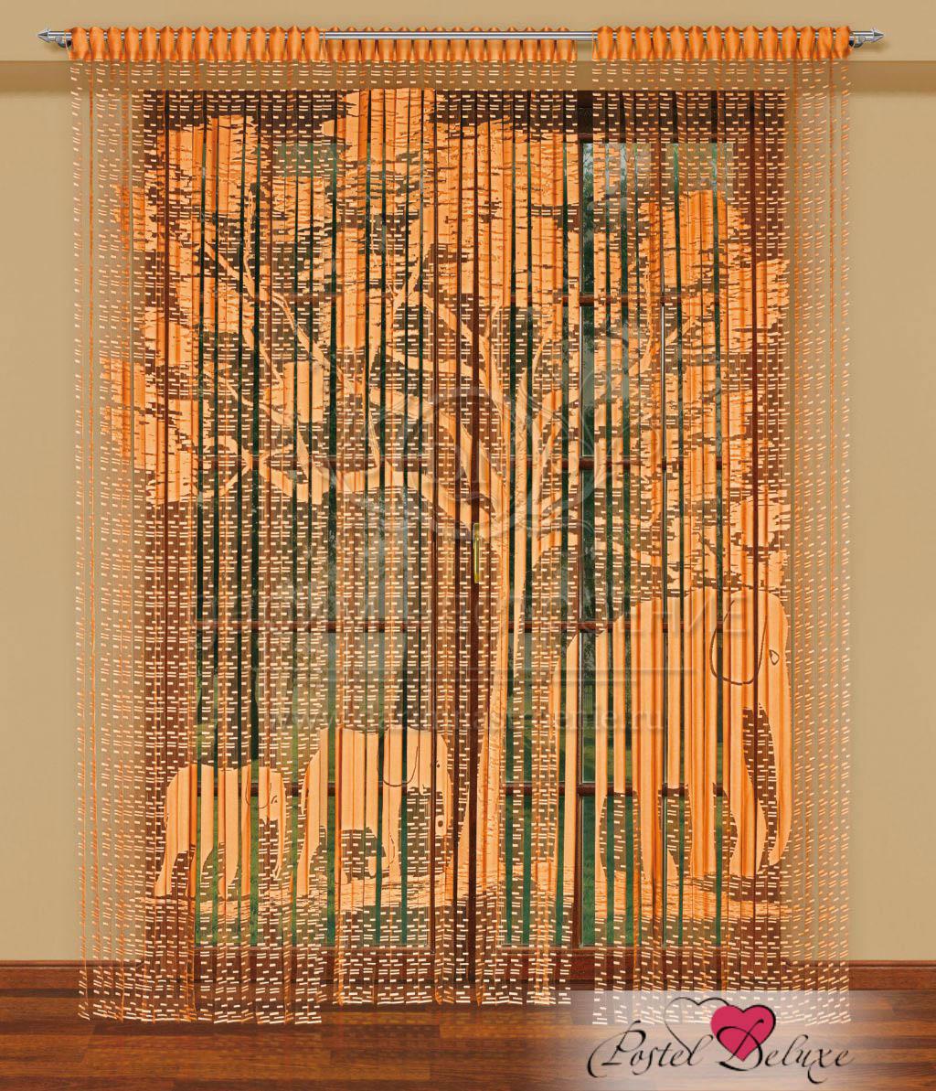 Шторы Haft Нитяные шторы Starr Цвет: Оранжевый haft haft нитяные шторы avice цвет кремовый