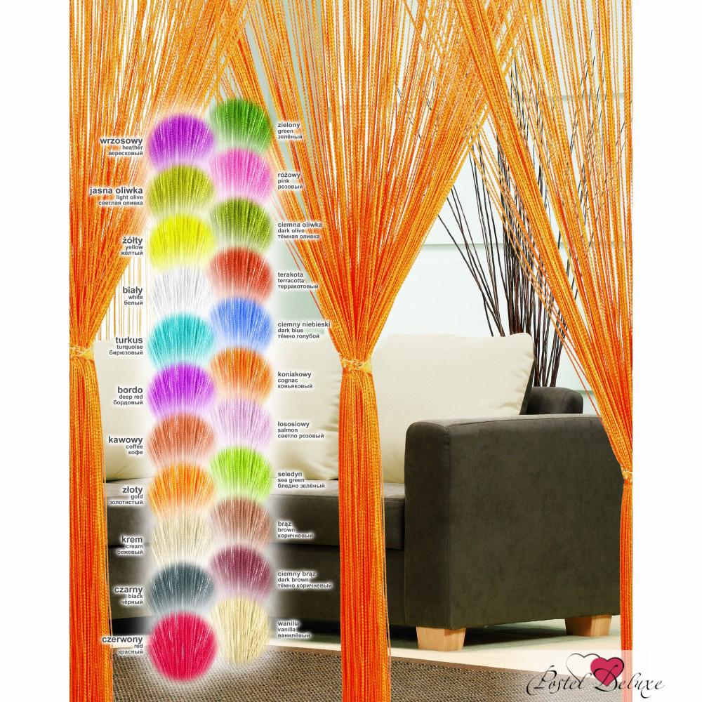 Шторы Haft Нитяные шторы Beryl Цвет: Оранжевый haft haft нитяные шторы avice цвет кремовый